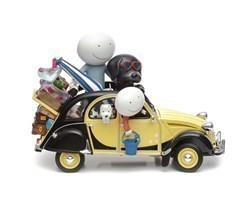 Love Overload by Doug Hyde - Cold Cast Porcelain sized 13x10 inches. Available from Whitewall Galleries